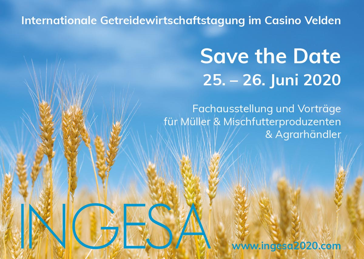 Save the Date: INGESA 2020