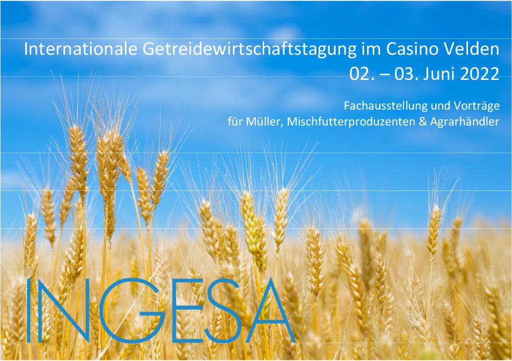 INGESA 2020 wird auf das Jahr 2022 verschoben!